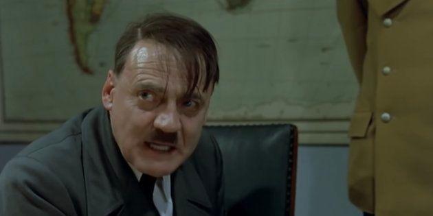 Bruno Ganz encarnó a Hitler en la película 'El