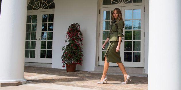 Así es el Ala Este de Melania Trump: hermética, despoblada y automarginada del resto de la Casa