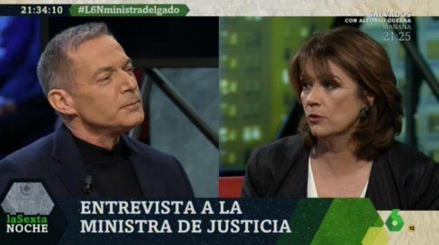 Dolores Delgado en 'LaSexta