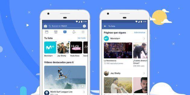 Facebook estrena en todo el mundo Watch, su servicio de contenidos de