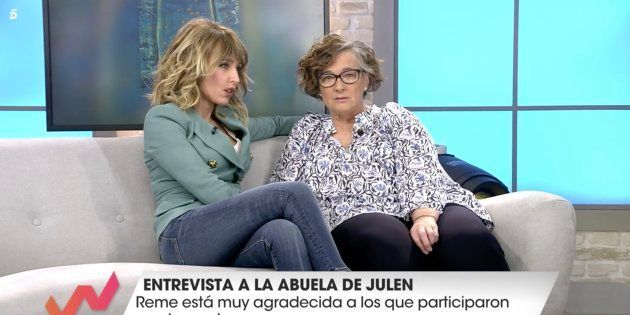 Emma García entrevista a la abuela de Julen en 'Viva la