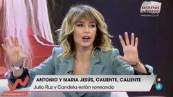 Emma García reprende a Julio Ruz en 'Viva la vida':