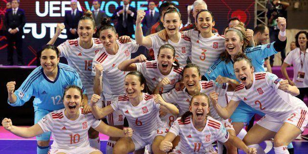 España, campeona de Europa de fútbol sala