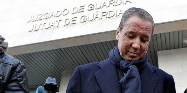 Eduardo Zapalana reitera su inocencia tras firmar por segunda vez en el juzgado de