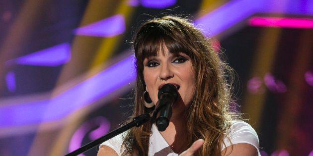 La cantante Rozalén, en 'Operación Triunfo' el 22 de enero de