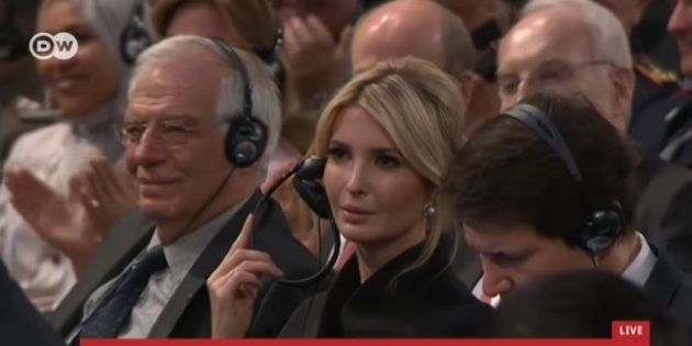 Ivanka Trump, al lado de Josep Borrell, en la Conferencia de Seguridad de