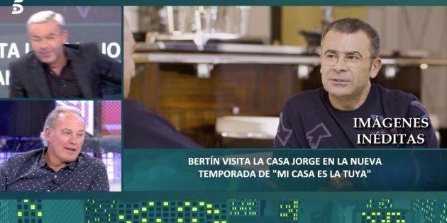 Jorge Javier, en el programa 'Mi casa es la