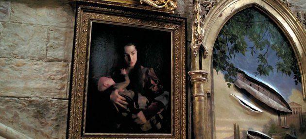 Annalisa Bugliani y su hija en 'Harry Potter y el prisionero de