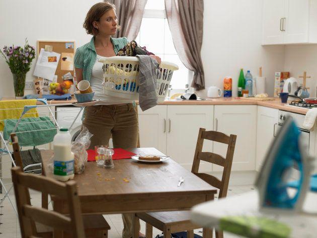 Mis días transcurrían entre planear el menú de la semana, limpiar la casa, llevar al parque a nuestra