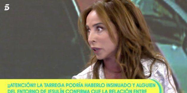 María Patiño vive su momento más tenso en 'Sálvame' (Telecinco):