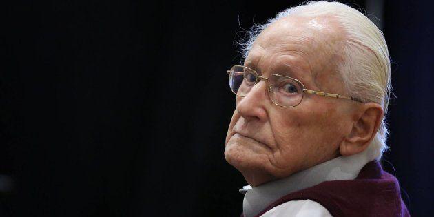 Muere el ex SS Oskar Gröning, conocido como el