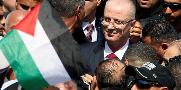 Siete heridos en explosión al paso del primer ministro palestino en