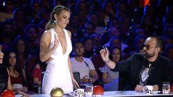 Edurne sorprende y le quita el puesto a Risto Mejide en 'Got Talent:'