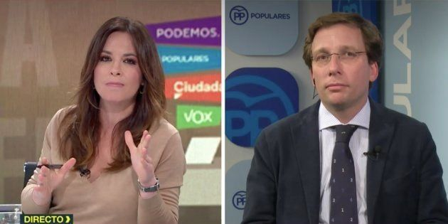 Mamen Mendizábal y Martínez-Almeida en 'Más Vale