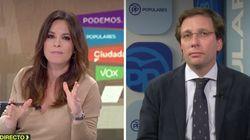 Mamen Mendizábal acorrala a Martínez-Almeida (PP) con una simple