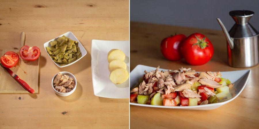 Recetas fáciles: ensalada de judías