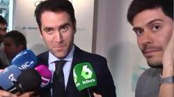 La cortante respuesta de García Egea en pleno directo cuando un reportero de laSexta le pregunta si vio la entrevista a