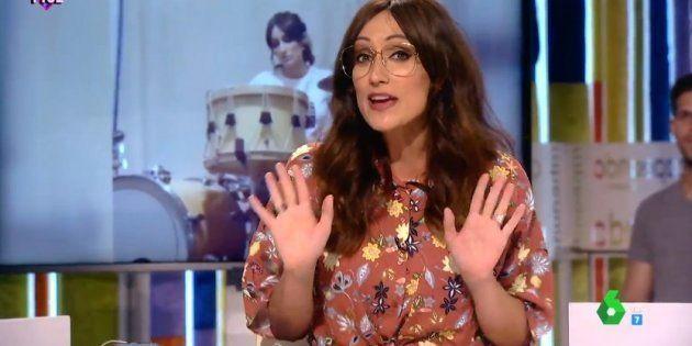 Cristina Pedroche se columpia al hablar de la vida amorosa de Ana Morgade en pleno