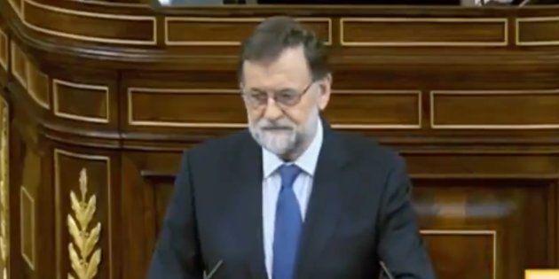 Sonoro aplauso en el Congreso tras el recuerdo de Rajoy al pequeño Gabriel: