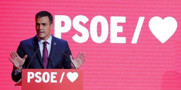 Pedro Sánchez presenta la precampaña del