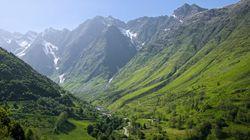 La espectacular foto de los Pirineos vistos desde el