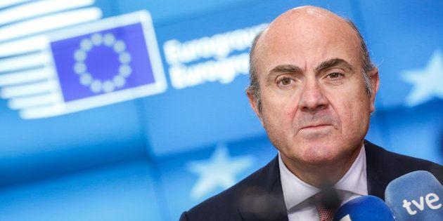 Luis de Guindos, exministro de Economía, en