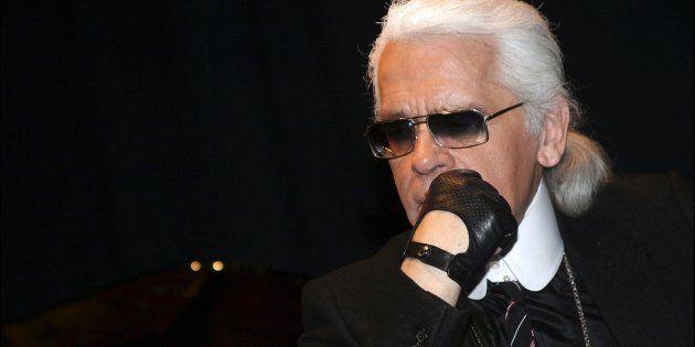 Karl Lagerfeld, en una imagen de