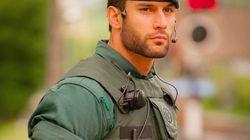 El desnudo integral de Jorge Pérez, el Guardia Civil que calentó las