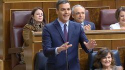 Directo: duro rifirrafe de Sánchez con Casado y Rivera en el Congreso sobre los ocho meses de gestión