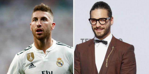 Sergio Ramos publica en Instagram una foto con Maluma y todos se cachondean con el mismo