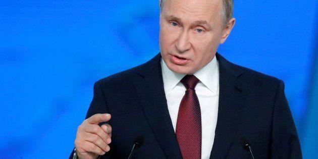 Putin presenta su informe anual sobre el