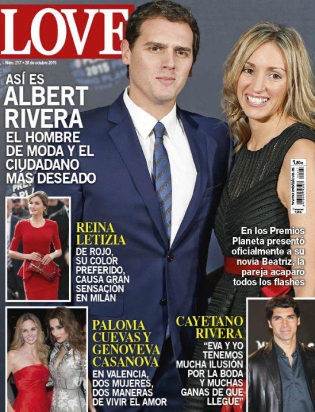 El increíble origen de la foto de Albert Rivera y Malú en la portada de la revista