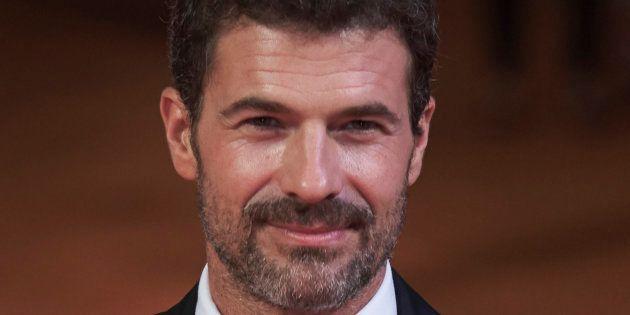 El actor Rodolfo Sancho en el estreno de 'Mar de Plástico' en septiembre de