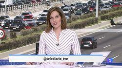 La despedida de Raquel Martínez del 'Telediario Fin de
