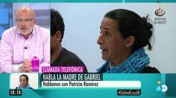 La madre de Gabriel carga contra el periodista