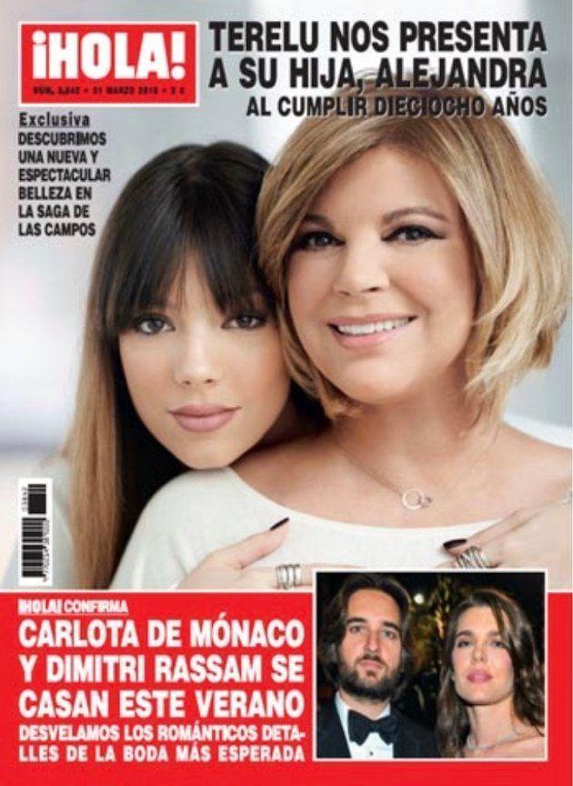 El detalle en esta portada de Terelu Campos en '¡Hola!' que más se está