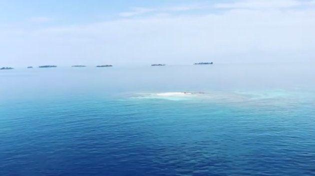 Lara Álvarez publica las primeras imágenes de la isla de