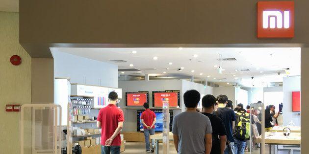 La Xiaomi Store de Guangzhou, China, en una imagen de