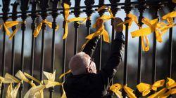 El Defensor del Pueblo pide a la Generalitat que se retiren los lazos