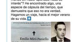 Un periodista reconstruye la historia tras la esquela viral del hombre que murió