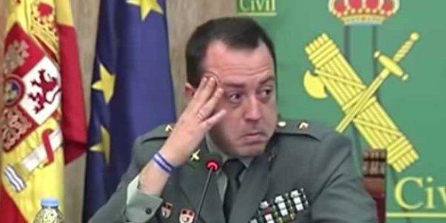Aplauso unánime a la Guardia Civil por su precioso tuit sobre las lágrimas de este comandante al hablar...