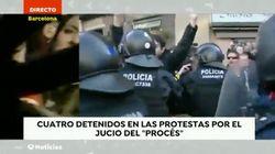 El mal rato de una reportera de 'Antena 3 Noticias' en pleno