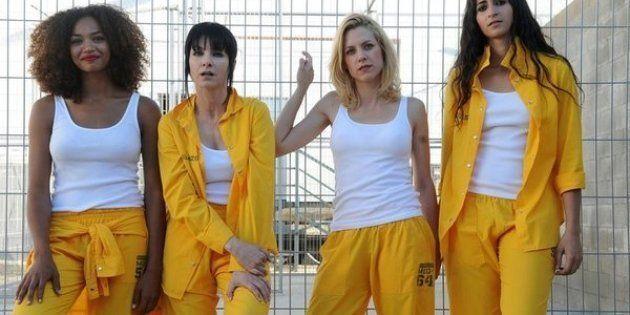 Berta Vázquez (La Rizos), Nawja Nimri (Zulema), Maggie Civantos (Maca) y Alba Flores