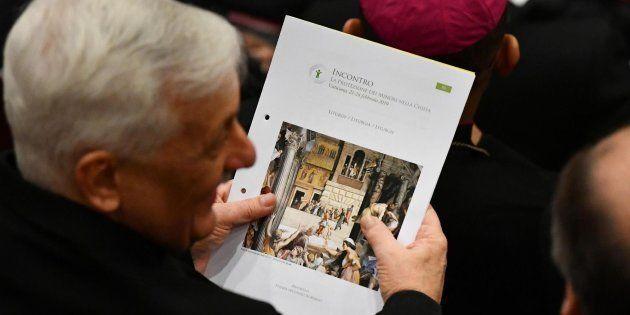 El papa reconoce que se