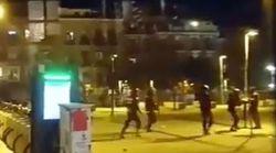 El vídeo de las cargas policiales en Lavapiés que indigna a las