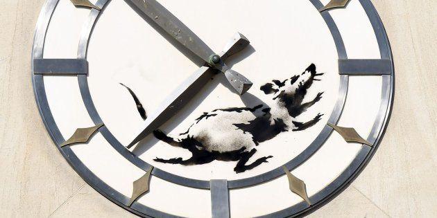 Banksy vuelve a la carga con su última obra en Nueva