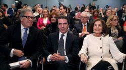 Aznar vuelve a cargar contra Rajoy en un acto de