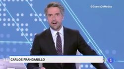 Así ha sido el estreno de Juan Carlos Franganillo en el Telediario 2 de