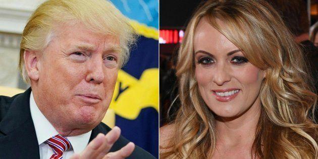 Donald Trump y Stormy