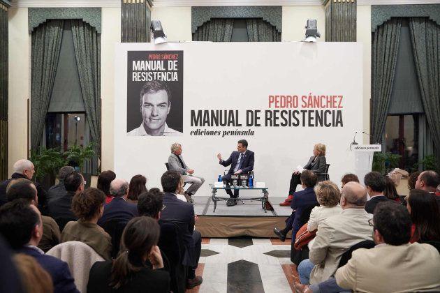 Presentación de 'Manual de resistencia', el libro de memorias del presidente Pedro